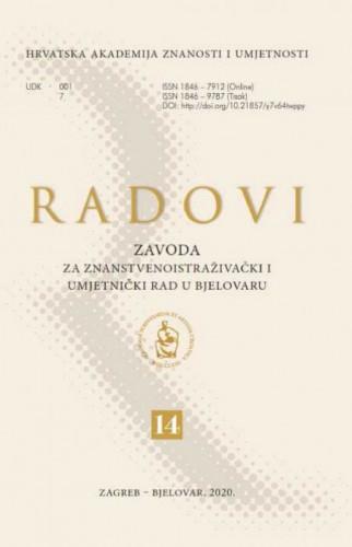 Sv. 14 (2020) / glavni i odgovorni urednik Slobodan Kaštela