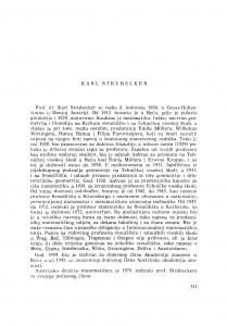 Karl Strubecker : [biografije novih članova Akademije]