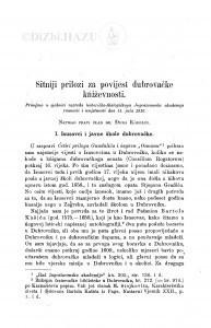 Sitniji prilozi za povijest dubrovačke kńiževnosti : <1.> Isusovci i javne škole dubrovačke; 2. Još nešto o izvorima Gundulićeva
