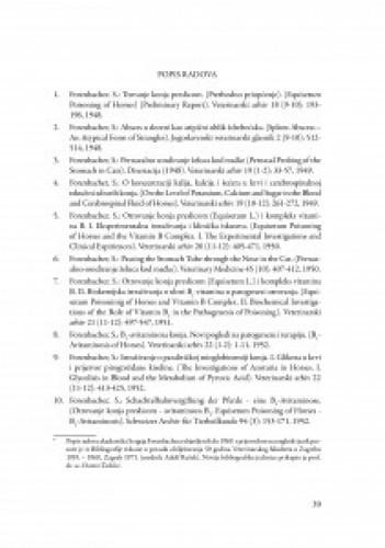 Bibliografija akademika Sergeja Forenbachera