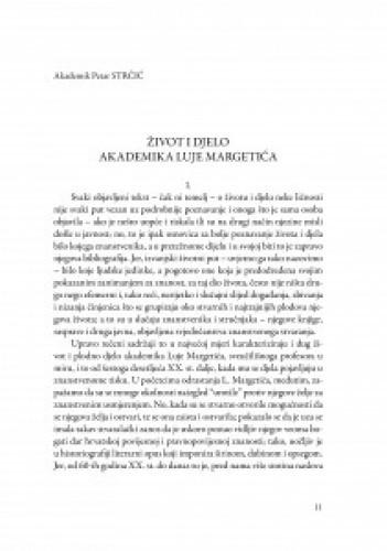 Život i djelo akademika Luje Margetića / Petar Strčić