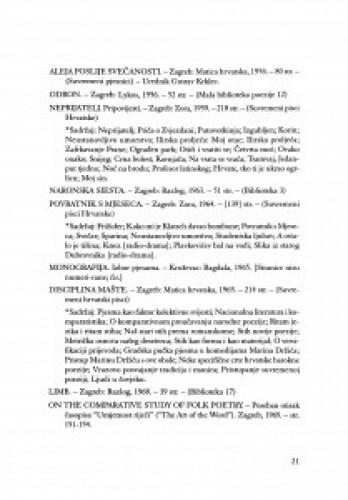 Bibliografija izdanja djela akademika Ivana Slamniga