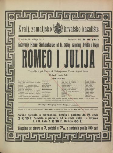 Romeo i Julija : Tragedija u pet činova