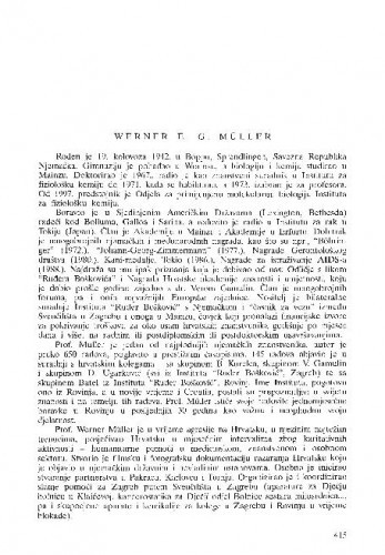Werner E. G. Müller