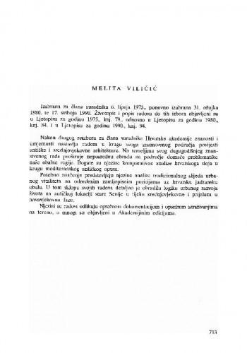 Melita Viličić
