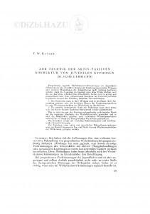 Zur Technic der aktiv-passiven Korrektur von juvenilen Kyphosen (M. Scheuermann) / F. W. Rathke