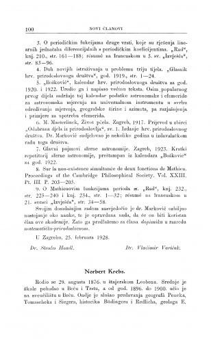 Norbert Krebs / D. Gorjanović-Kramberger i A. Gavazzi