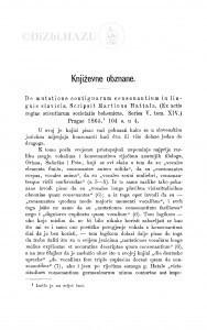 De mutatione contiguarum consonantium in linguis slavicis. Scripsit Martinus Hattala. (Ex actis regiae scientiarum societatis bohemicae. Series V., tom XIV.) Pragae 1865 : [književna obznana] / Đ. Daničić