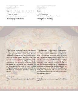 Razmišljanja o slikarstvu = Thoughts on painting / Vlaho Bukovac