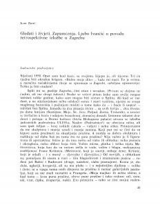 Gledati i živjeti, Zapamćenja : Ljubo Ivančić u povodu retrospektivne izložbe u Zagrebu / Igor Zidić
