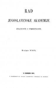 Knj. 29(1874)=knj. 29