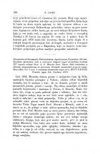 Documenta ad Forumiulii, Patriarchatum Aquilejensem, Tergestum, Istriam, Goritiam spectantia, inde a recessiore tempore usque ad medium seculum XV regesta collegit Prof. A. S. Minotto Doct. Decur. Hist. tradendae, a veturum monumentorum in provincia Forijulii curatoribus propriis sumptibus edita. Vol. I. sect. 1. continens documenta usque ad a. MCCCXXXIII. Venetiis, typis Joh. Cecchini 1870 : [književna obznana] / S. Ljubić