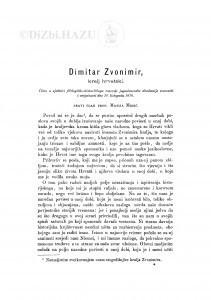 Dimitar Zvonimir : kralj hrvatski / M. Mesić