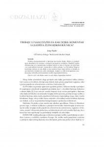 Trebaju li nam centri za rak dojke: komentar s gledišta županijskih bolnica / Josip Fajdić