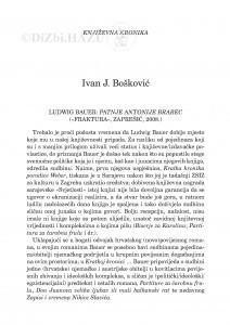 Ludwig Bauer: Patnje Antonije Brabec (