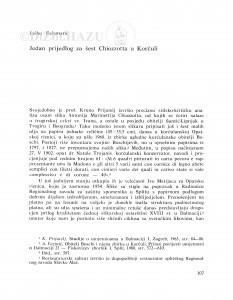 Jedan prijedlog za šest Chiozzotta u Korčuli / Joško Belamarić