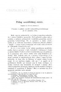 Prilog neeuklidskoj statici / Z. Makanec