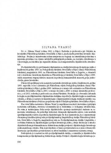 Silvana Vranić