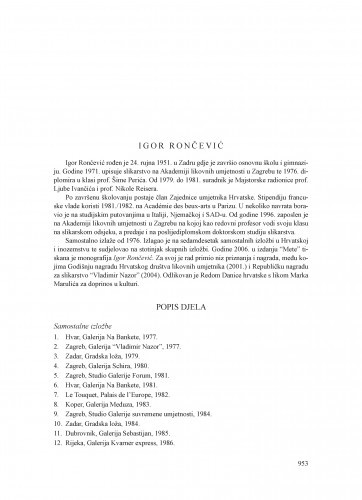 Igor Rončević