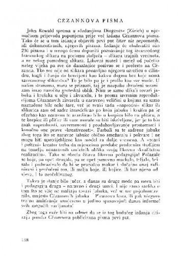 Cézannova pisma / Lj. B.
