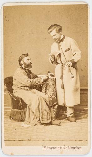 Izidor Kršnjavi i Carl Fröschl