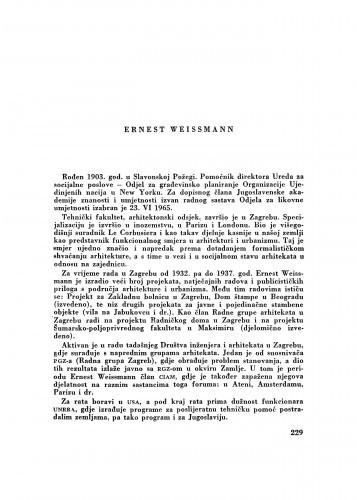Ernest Weissmann