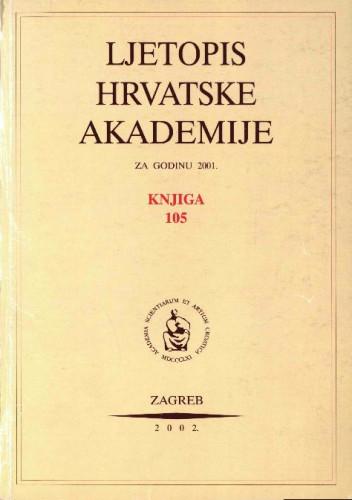 2001. Knj. 105