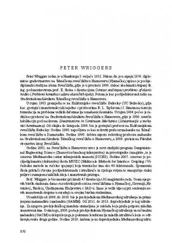 Peter Wriggers
