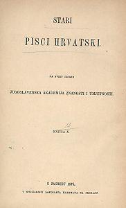 Djela Frana Lukarevića Burine / [životopis napisao Fr. Rački] ; tekst za štampu priredio Sebastijan Žepić