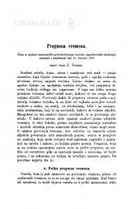 Prognoza vremena / J. Torbar