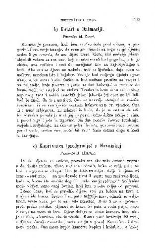 Koprivnica (predgradje) u Hrvatskoj : trudne žene i porod / R. Horvat