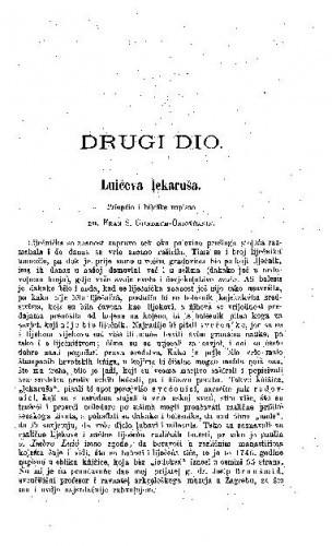 Luićeva lekaruša / F. Gundrum-Oriovčanin