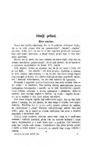 Sitniji prilozi / A. Radić