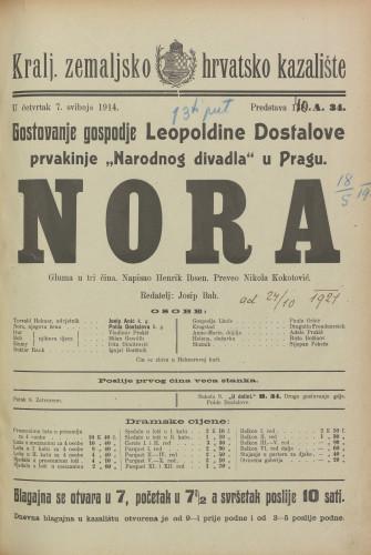 Nora Gluma u tri čina