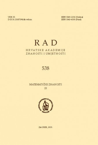 Sv. 23(2019)=knj. 58 / glavni urednik Andrej Dujella