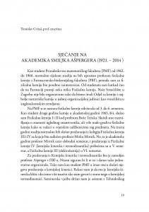 Sjećanje na akademika Smiljka Ašpergera (1921.-2014.) : (govor na komemoraciji u palači Akademije 5. svibnja 2015.) / Tomislav Cvitaš