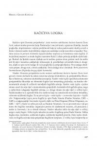 Kačićeva logika / Mihaela Girardi-Karšulin