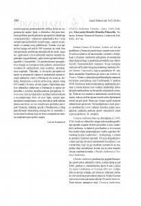 Cronica Jadretina. Venezia - Zara, 1345-1346, prir. Gherardo Ortalli i Orneila Pittarello. Venezia: Istituto Veneto di Scienze, Lettere ed Arti, 2014 : [prikaz] / Relja Seferović