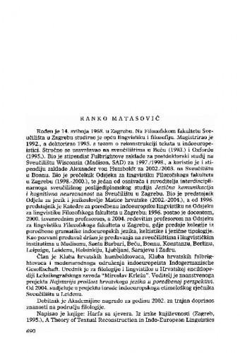 Ranko Matasović