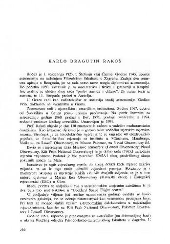 Karlo Dragutin Rakoš