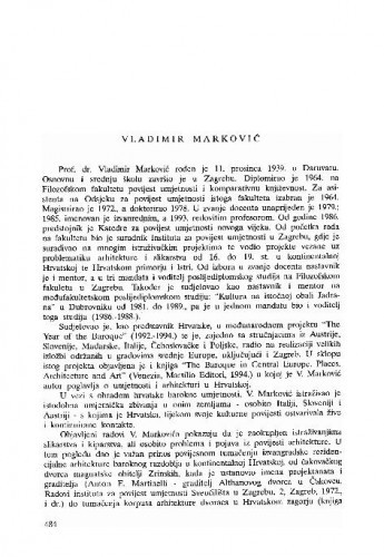 Vladimir Marković