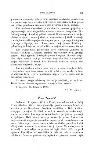 Oton Župančič / D. Domjanić