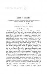 2. Šraderova kńiga. - 3. Delibrikova kniga : (nastavak i svršetak) : književna obznana / T. Maretić