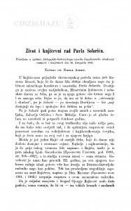 Život i književni rad Pavla Solarića / N. Andrić