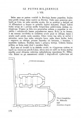 Iz putne bilježnice 3. VII. / Lj. B.