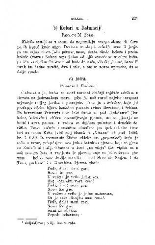 Istra : koleda / I. Milčetić