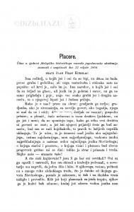 Placere / F. Kurelac