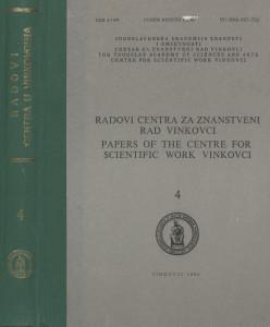 Sv. 4(1980) / urednici Dušan Klepac, Marijan Matković, Dionizije Švagelj