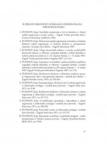 Bibliografija akademika Josipa Županova