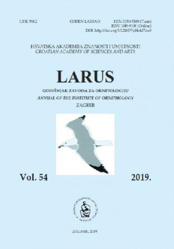 Vol. 54 (2019) / [glavni urednik Nikola Ljubešić]